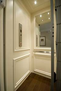 Photo Gallery - Residential Elevators, Inc.  An elevator in my home? Why yes of course.