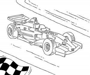 Malvorlage Formel 1 Rennauto Cars Coloring Pages Sports Coloring Pages Truck Coloring Pages