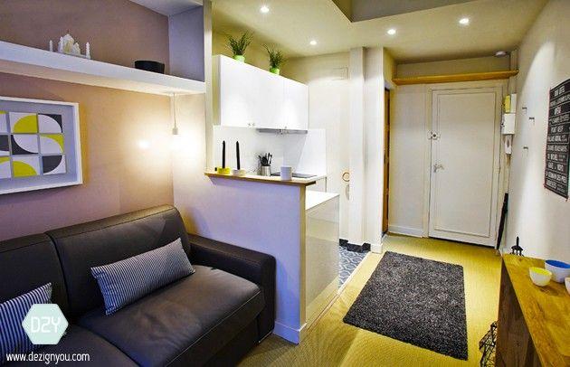 les 13 meilleures images du tableau studio 15m2 sur pinterest petits appartements espaces. Black Bedroom Furniture Sets. Home Design Ideas