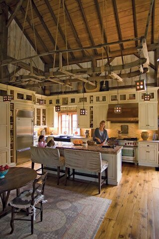 71 best farm shop design images on pinterest bread shop for Converting a pole barn into a house
