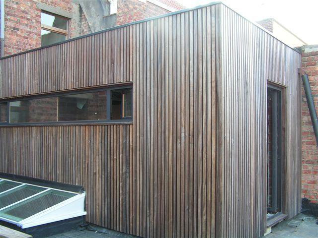 gevelbekleding hout vertikaal
