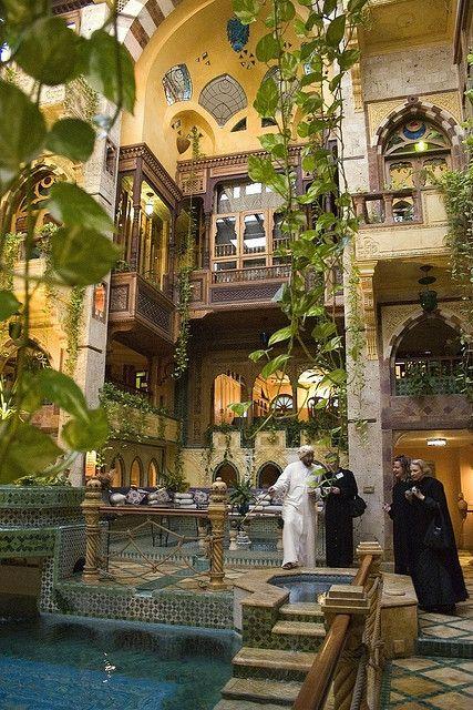 Angawi Mansion Al Makkiyya of famed architect Dr. Sami Angawi in Jeddah, Saudi-Arabia
