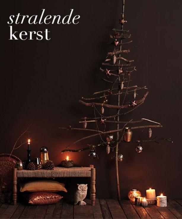 natuurlijke kerst boom