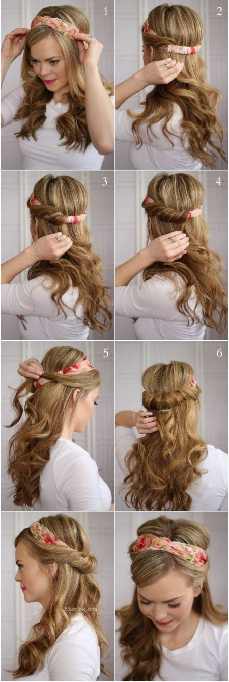 14 Hairstyles to try... Twist, fasten, and you're done.
