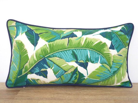 Brighten up your outdoor space with this colorful tropical outdoor pillow. Its made of 100% Polyester printed outdoor fabric, stain and water