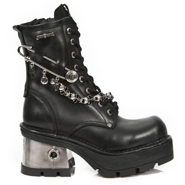 SWING-815, bottes & bottines femme, Noir (schwarz), 36Demonia