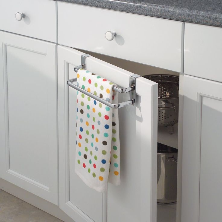Maximize your cabinet space with these 16 storage ideas towels cabinets and bar - Towel racks for small spaces concept ...