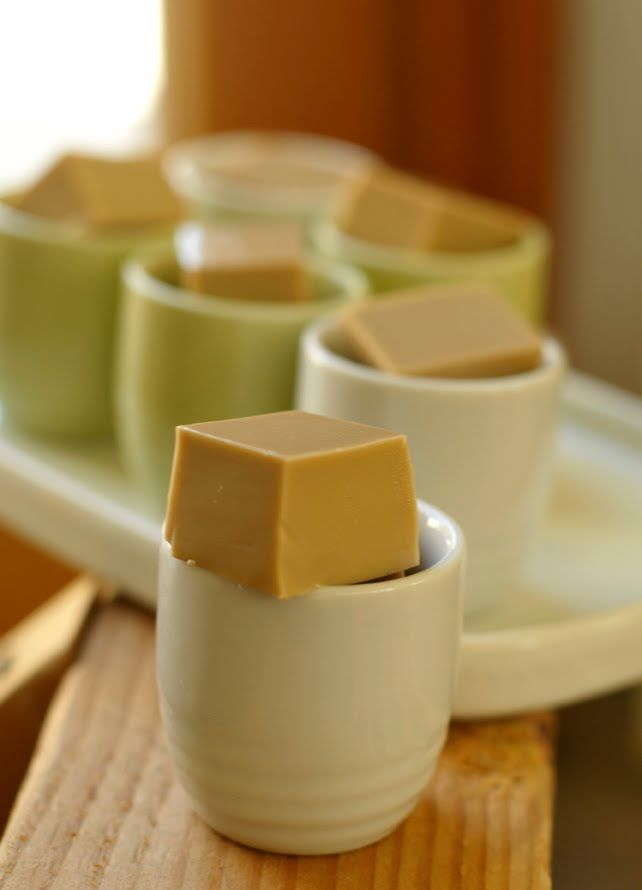 Coffee Jello Shots: 1/2 cup cold water  2 cups strong coffee (Starbucks instant packages).  1 can(14 oz.) sweetened condensed milk  2 tablespoons Kahlua  3 packages Knox unflavored gelatin