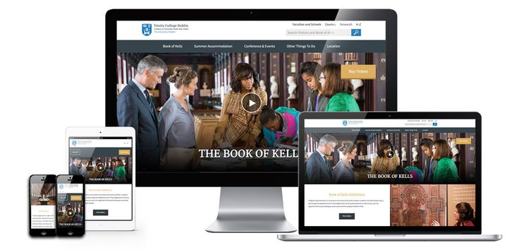 The Book of Kells website. The Book of Kells is one of Ireland's top tourist attractions. The site is elegant, crisp and contemporary in design yet respects the timeless beauty that such a national treasure and part of Ireland's heritage deserves.