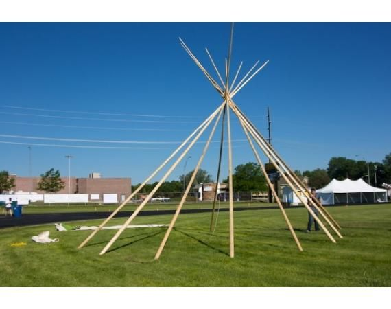 Tipi Poles | Vermont's Barre Army Navy Store
