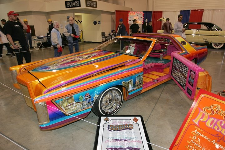 joe ray 39 s 1979 lincoln continental las vegas paint pinterest low rider cars and kustom. Black Bedroom Furniture Sets. Home Design Ideas