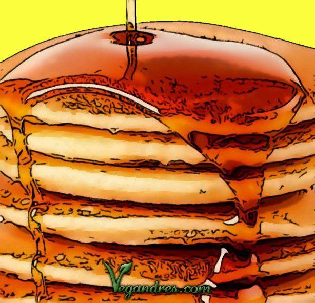 Pancakes veganos – receta tortitas veganas