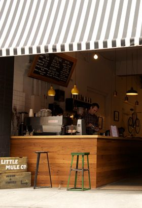 The Little Mule: food, coffee and bikes...