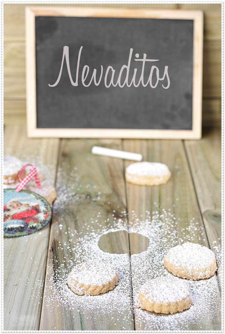 Nevaditos, typical spanish Christmas sweet