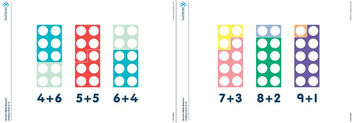 Here's a set of Numicon resources on ways to make 10.