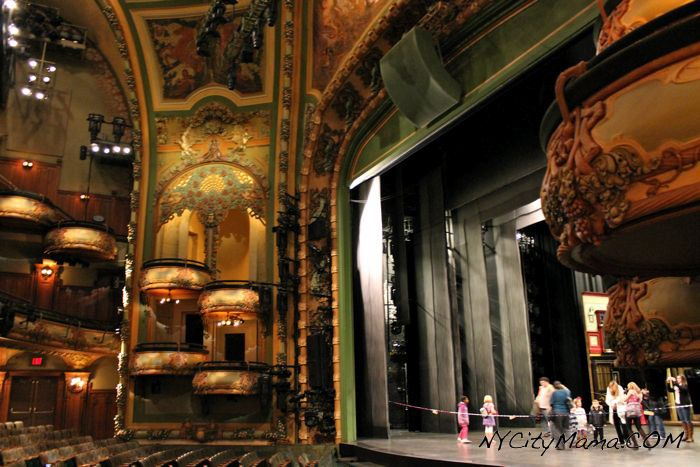 New Amsterdam Theatre Backstage Tour