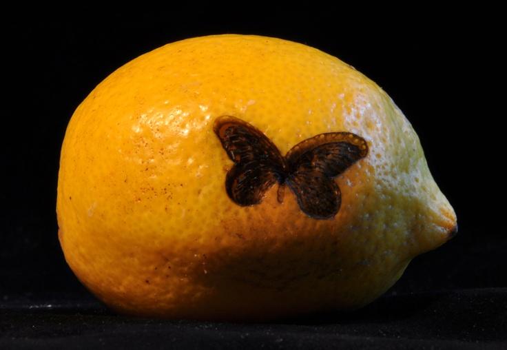 Z.t. 2012, Merijn Bolink, bewerkte citroen, oplage onbeperkt.
