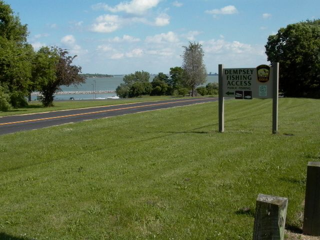 Check not my image dempsey fishing access and boat for Sandusky bay fishing