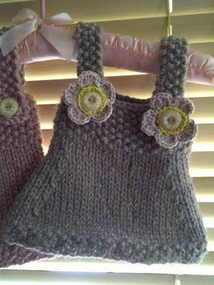 Best 20+ Knit baby dress ideas on Pinterest