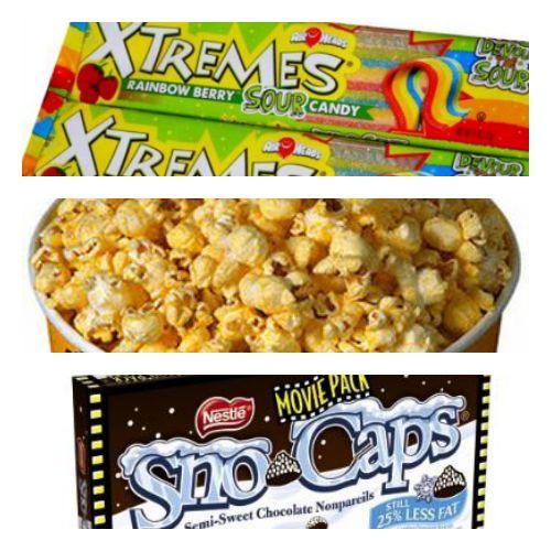 Movie Theater Snacks #Food #Entertainment #FandangoFamilyRoom