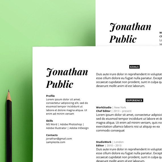 Cele mai bune 25+ de idei despre Professional resume format pe - how to do a great resume