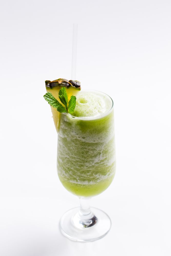 Pineapple and mint freeze