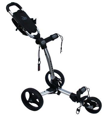 Trilite Three Wheel Golf Push Cart - Axglo