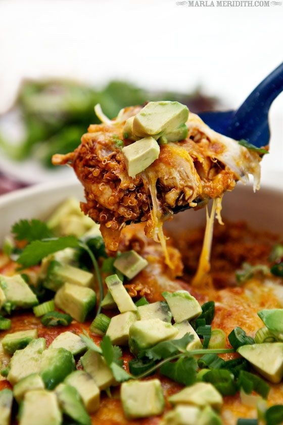 33 best chicken enchilada recipe images on pinterest chicken chicken enchilada quinoa casserole familyfreshcooking forumfinder Image collections