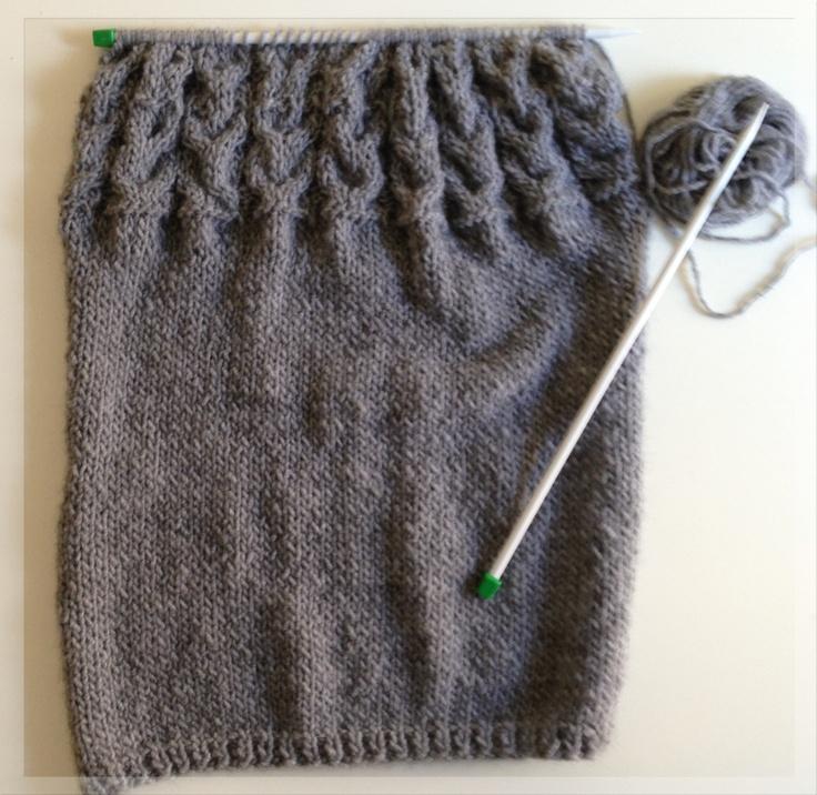 Il maglione con i gufi #davanti