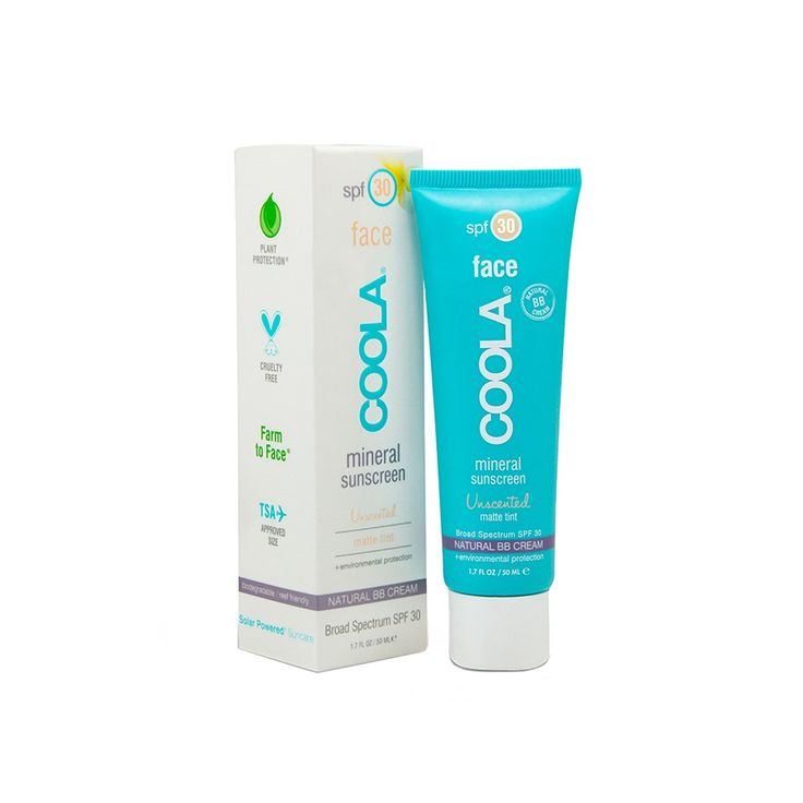 LOVE this stuff!!! COOLA Tinted Matte SPF 30 for Face, $36.00 #birchbox