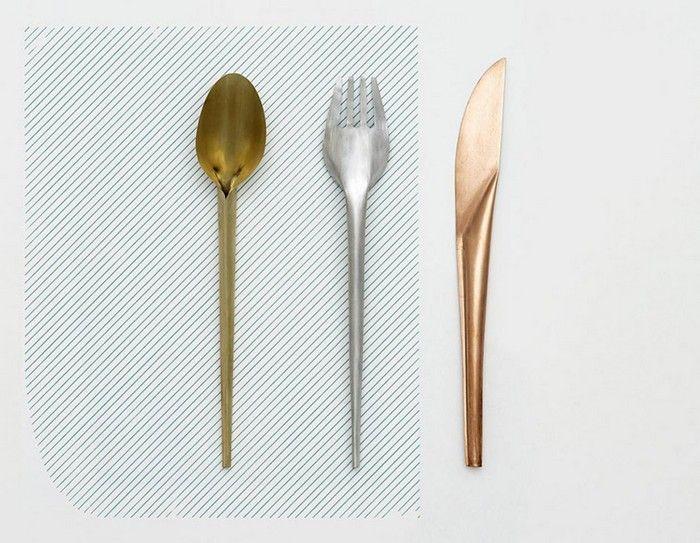 Maarten Baas cutlery for Valerie Objects
