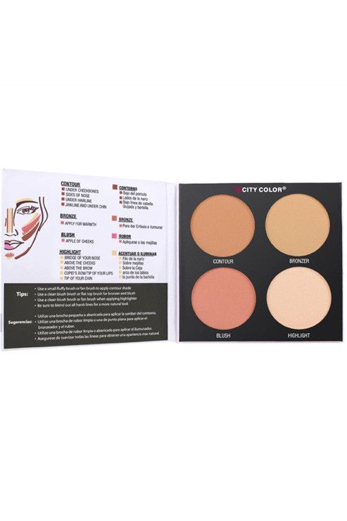 Contour & Define - Contour, Bronzer, Blush and Highlight