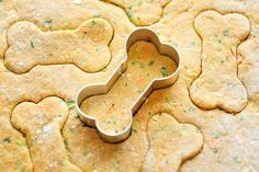 Spinach, Carrot and Zucchini Dog Treats
