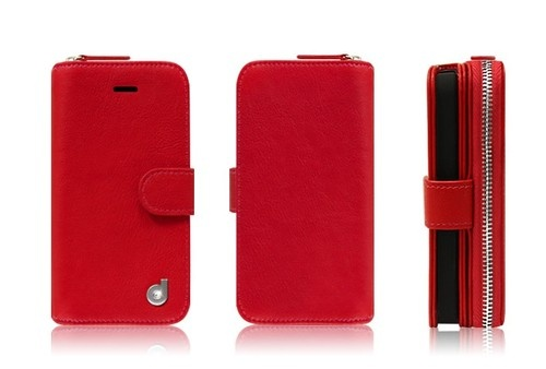 korean trend i phone5 case red color
