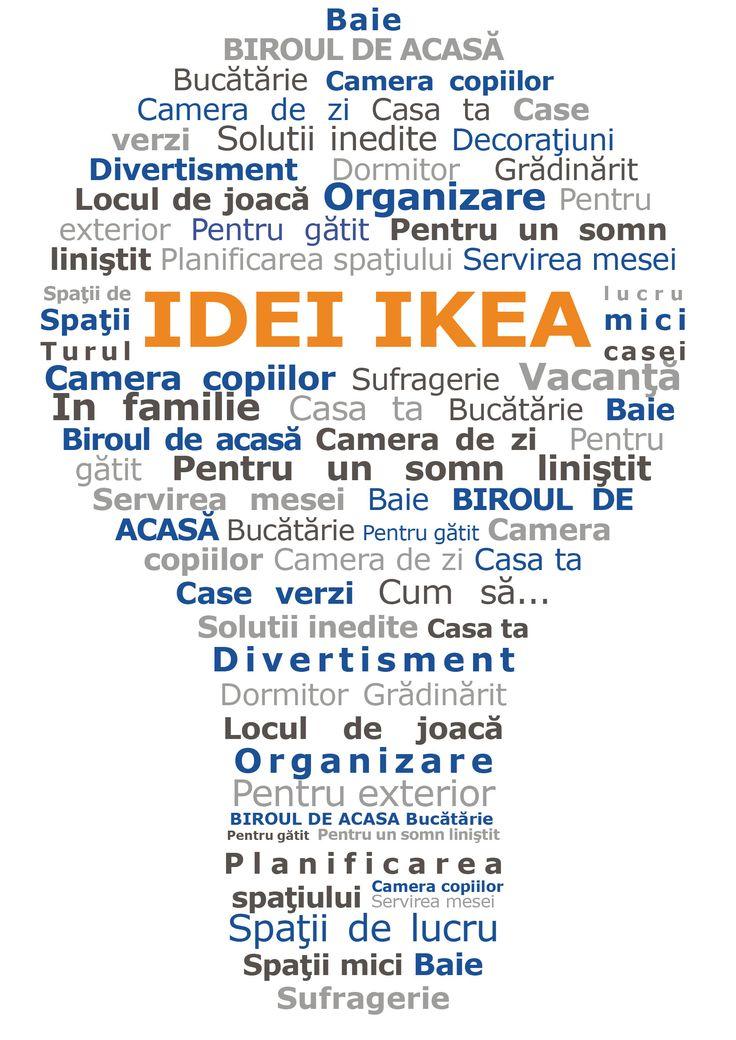 """""""Acasă"""" este locul în care te întorci întotdeauna cu drag, iar fiecare casă are o personalitate proprie. De acum îți poți pune și mai mult creativitatea la încercare, iar pentru asta îți venim în ajutor cu o mulțime de idei, de la decorațiuni și sfaturi de organizare, până la soluții pentru o viață mai sustenabilă acasă. Le găsești pe toate în secțiunea Idei IKEA de pe site-ul nostru."""