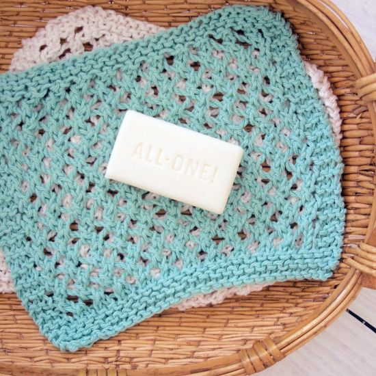 Give lace knitting a try with this free knitted washcloth pattern! Thanks so xox ☆ ★ https://uk.pinterest.com/peacefuldoves/