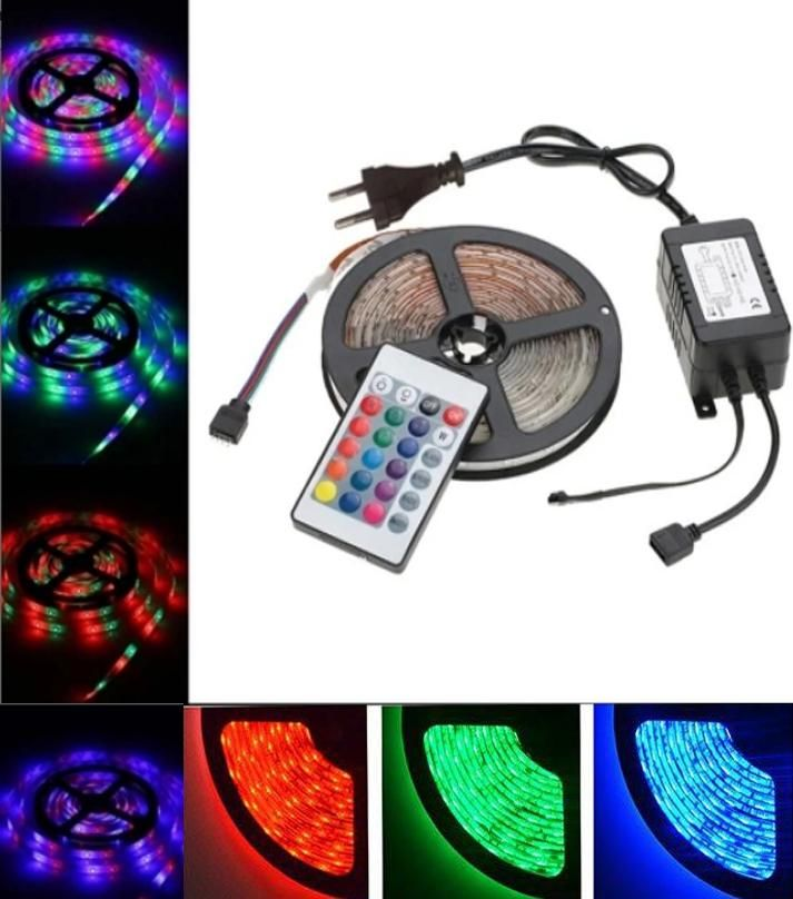 Rgb Waterproof Remote Control Color Changing Led Strip Light Complete Kit Color Changing Led Led Strip Lighting Light