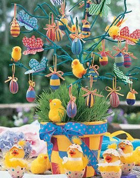 easter-eggs-decoration-crafts-decorations-chicken-tree
