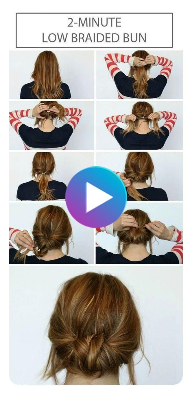 87 Easy Low Bun Hairstyles And Their Step By Step Tutorials Style Easily In 2020 Hair Bun Tutorial Easy Hairstyles Hair Styles