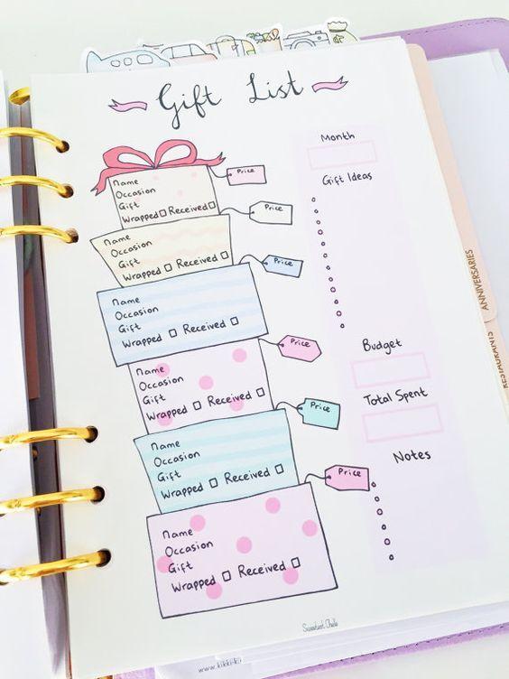 海外の手帳術が可愛い!バレットジャーナルの真似したい使い方 - Yumama's Cafe