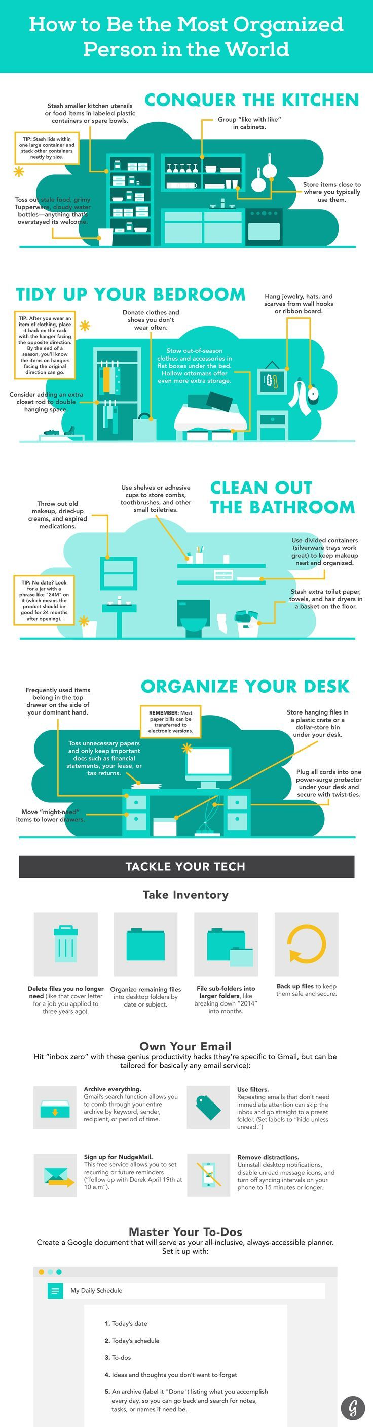 The Ultimate Guide to Being the Most Organized Person in the World