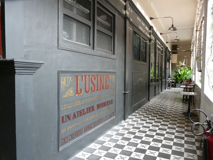 l'usine is where is spend most of my days in saigon/hcmc