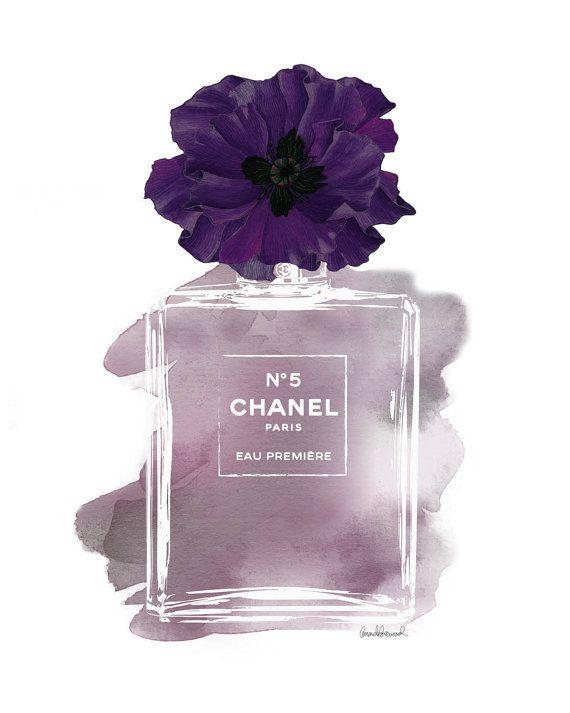 hellomrmoon : Chanel No.5 Purple Poppy