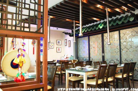 Interior koryo won korean restaurant san fransokyo