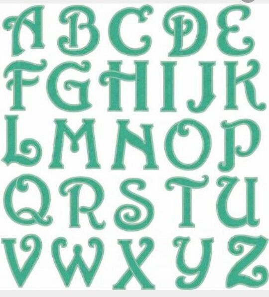Best Images About Letras On   Alphabet Index Page