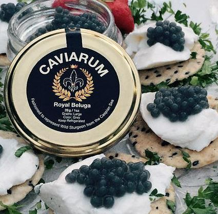 FREE Caviarum Royal Beluga Caviar Sample - http://www.guide2free.com/food-and-drink/free-caviarum-royal-beluga-caviar-sample/