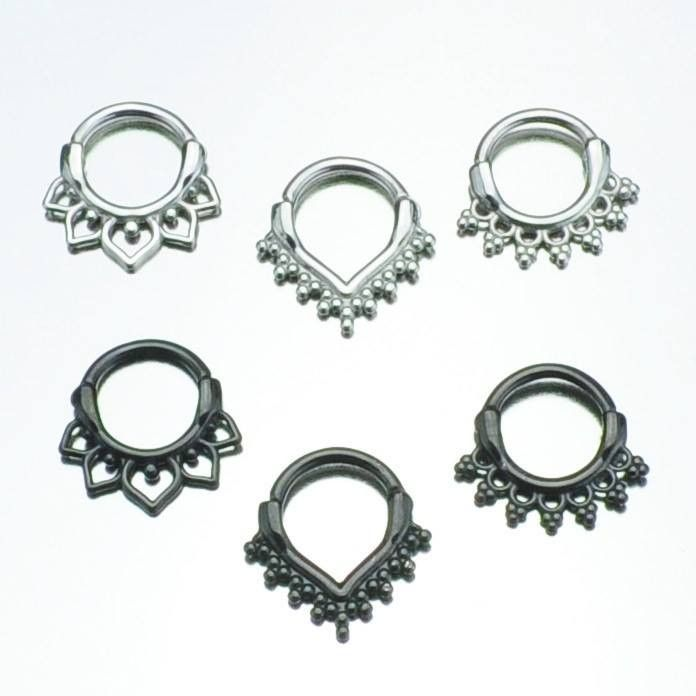 Curved Post Septum Clicker Value Pack