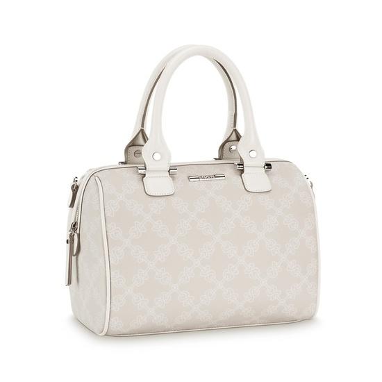 "TOUS Infinit collection handbag. Waterproof fabric combined with bovine leather. 25cm. x 29cm. x 12cm. - 9 13/16"" x 11 7/16"" x 4 3/4"".    TOUS WASHINGTON DC"