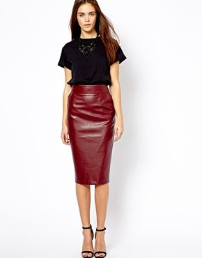 17 Best images about Skirting the issue | The Leather Skirt. on ...