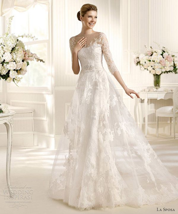 La Sposa Wedding Dresses 2013 — Fashion & Costura Bridal Collections | Wedding Inspirasi